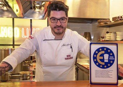 El chef Aitor Esnal se incorpora a la prestigiosa asociación europea de cocineros 'Euro-Toques'