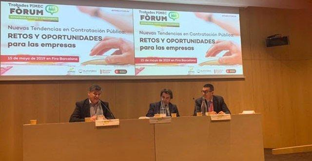 Fira.- Pimec defensa la contractació pública amb facturació electrònica