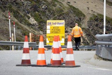 França avança a aquest dimecres la reobertura de la carretera per accedir a Andorra (SFG)