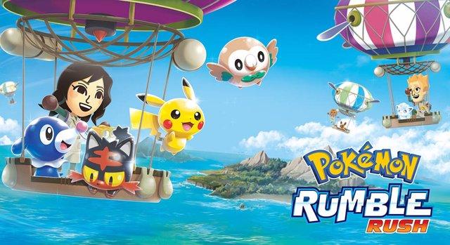 Pokémon Rumble Rush anuncia su versión para dispositivos móviles