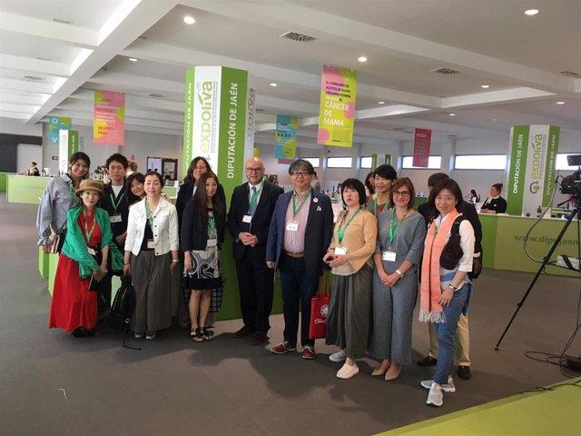 """Jaén.-MásJaén.-Prescriptores gastronómicos de Japón """"se empapan"""" del aceite de oliva en una misión comercial de Expoliva"""