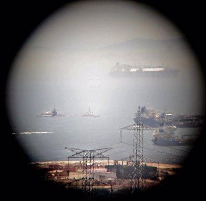 El Ministerio de Defensa británico informa que el submarino 'USS Olympia' está en visita programada en Gibraltar