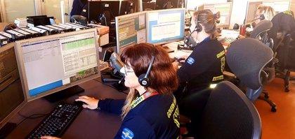 Catorce tripulantes del buque 'Grande Europa' ya están en tierra para pasar un reconocimiento médico