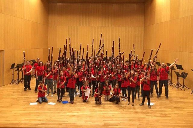 Valladolid acoge este sábado un encuentro de casi un centenar de fagotistas de toda Castilla y León