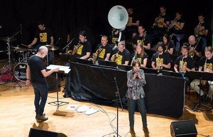 La 'Big Band Berri' protagoniza este jueves en Vitoria el tercer concierto del ciclo de Jazz Vital