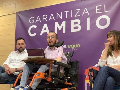 """Echenique: """"Hay una manera muy efectiva de decirle a Sánchez con 'Rivera no' y es votar masivamente a Podemos"""""""