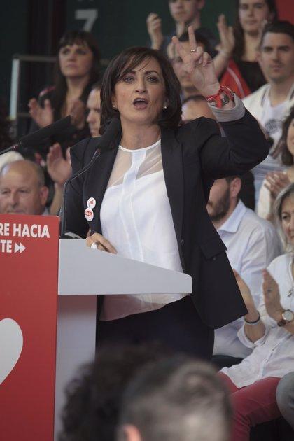 """Andreu pide el voto para """"liderar un cambio"""" en La Rioja con un PSOE que ofrece """"honestidad, frente a corrupción"""""""