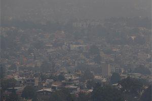 ¿Qué provoca la contaminación del aire en Ciudad de México?