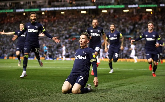 England Sky Bet Championship -Leeds United vs Derby County