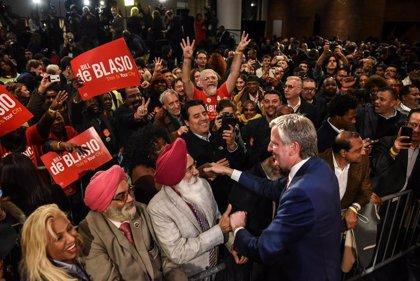 El alcalde de Nueva York se lanza a la carrera por la Casa Blanca con un mensaje a la clase trabajadora