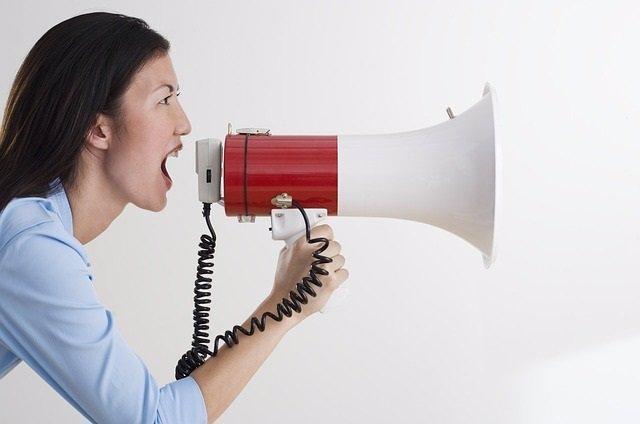 Voz, gritar