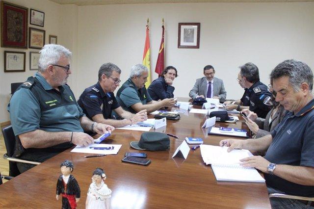 Delegación del Gobierno reforzará la vigilancia en zonas rurales de Yecla para prevenir la comisión de delitos