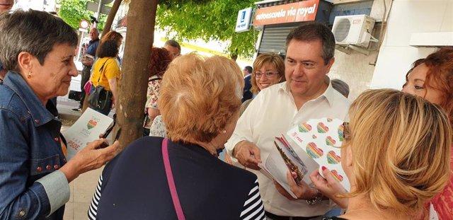 Sevilla.- 26M.-Espadas anuncia un programa de inversión en árboles y vía pública de barriadas recepcionadas tras 30 años