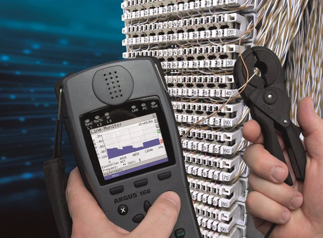 COMUNICADO: intec presents ARGUS G.Fast testers for 212 MHz and new accessories at ANGA COM