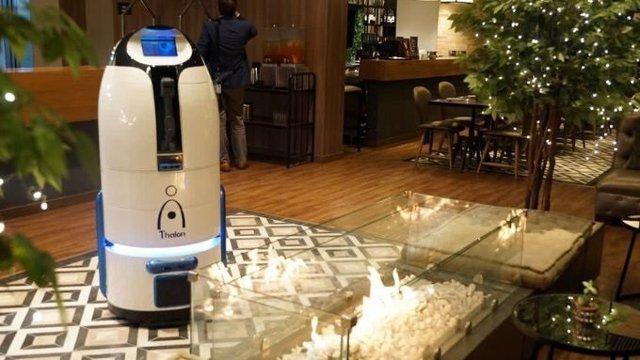 Thalon, el primer robot colombiano que revolucionará la industria hotelera