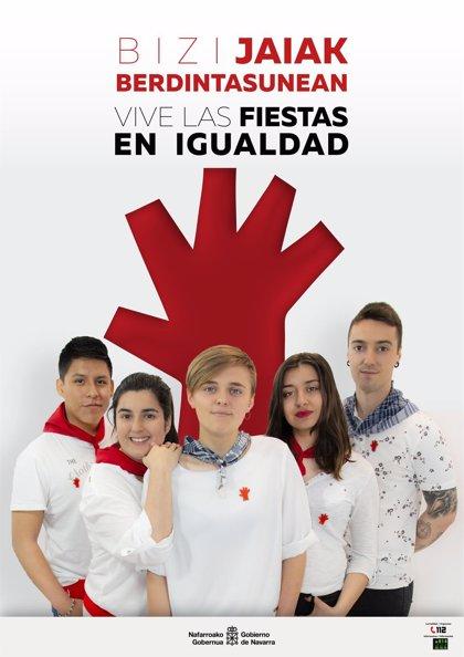 Disfrutar en igualdad, eje de la nueva campaña del Gobierno de Navarra contra la violencia sexista en fiestas