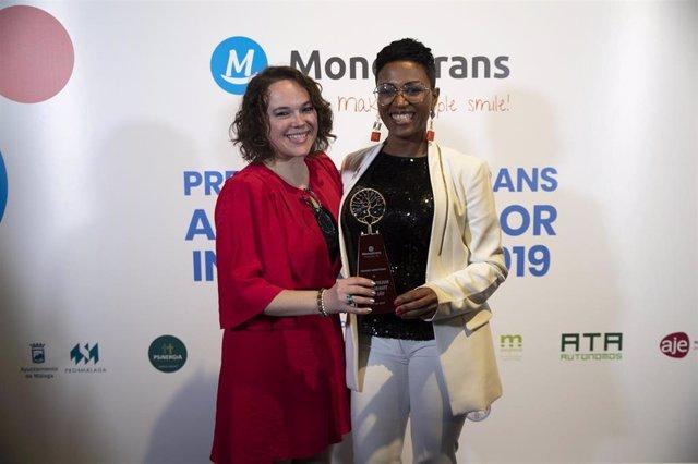 El 'robot abogado' Roberta de Neyvi Tolentino, premio Moneytrans 2019 al 'Emprendedor del año'
