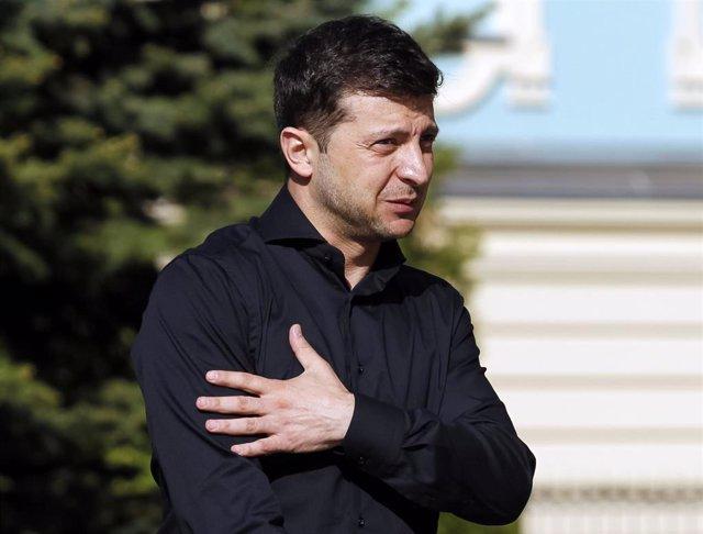 Ukrainian President-elect Zelenskiy meets Parliament lawmakers
