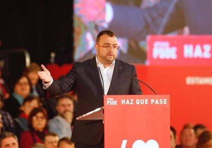 """Barbón (FSA-PSOE) agradece la """"valentía"""" de Arrimadas (Cs) al desvelar que prefiere pactos con el PP"""
