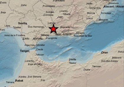 Registrado un terremoto de magnitud 2,9 en Santa Cruz del Comercio (Granada)