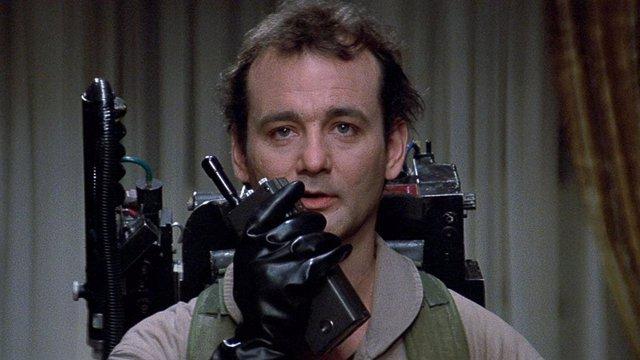"""Bill Murray en una escena de """"Los Cazafantasmas"""""""