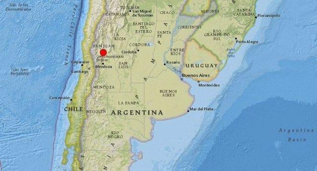 Un terremoto de 5,5 grados sacude Argentina y afecta a dos regiones de Chile
