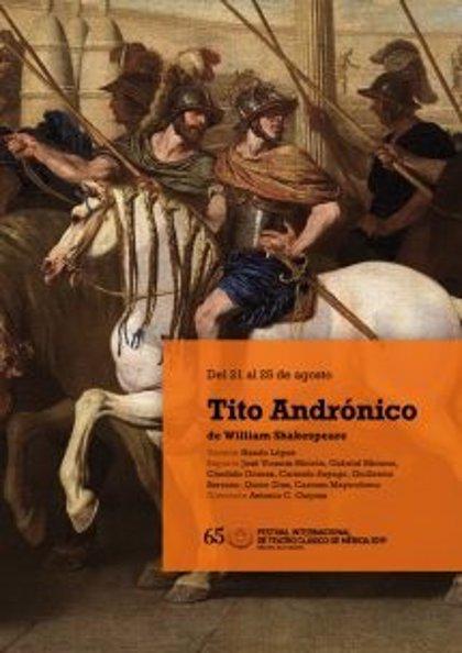 El reparto de 'Tito Andrónico' en el Festival de Mérida 2019 se completa con seis actores más, hasta los 13 totales