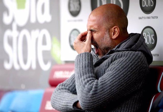 England Premier League - Burnley vs Manchester City