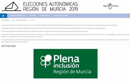 La Comunidad y Plena Inclusión ofrecen información accesible sobre las elecciones a personas con discapacidad
