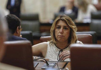 """Susana Díaz: El veto a Iceta es """"muy mal precedente"""" con el que independentistas """"vuelven a encanallar la vida pública"""""""