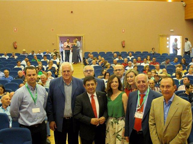 Jaén.- MásJaén.- Reyes defiende el olivar tradicional y pide unión para las medidas contra la crisis de precios