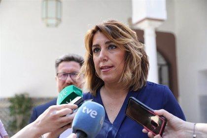 """Susana Díaz critica la """"esquizofrenia política"""" entre Junta y PP-A en torno a la macrocausa de los avales de IDEA"""
