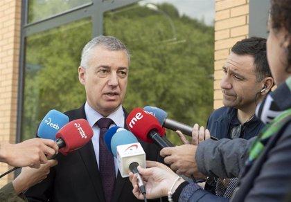 Urkullu anima a resolver los atentados sin esclarecer de ETA y otras bandas, tras la detención de 'Ternera'
