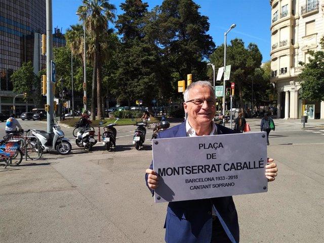 """26M.- Bou (PP) Proposa Canviar El Nom De la Plaça Del """"Colpista"""" Macià Per Montserrat Caballé"""