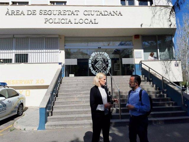"""26M.- Cs Palma Se Compromete A Acabar Con """"La Falta De Recursos Humanos Y Materiales"""" Del Cuerpo De La Policía Local"""