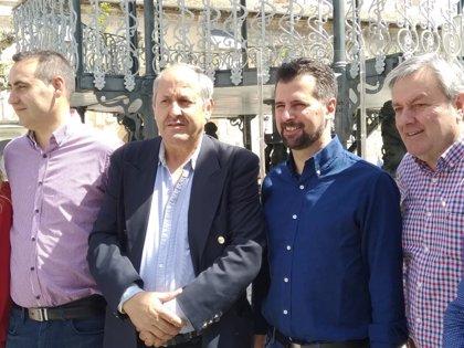 Tudanca afirma que el PSOE perseguirá a los terroristas que aún no estén detenidos