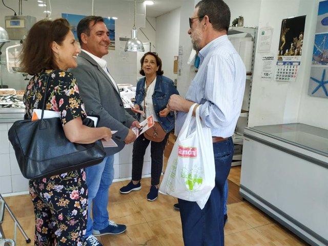 """Huelva.-26M.- Cs se compromete a """"consensuar con comerciantes"""" de Isla Chica el proyecto del solar del antiguo estadio"""