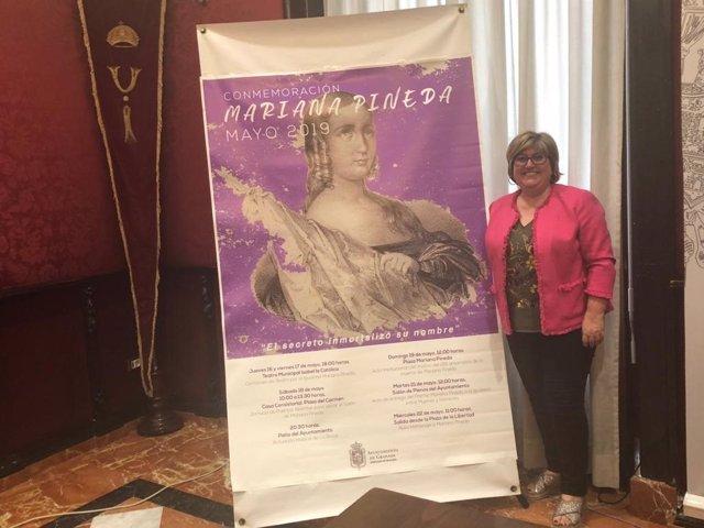 Granada.- El homenaje a Mariana Pineda se adelanta al 19 de mayo para que no coincida con las municipales
