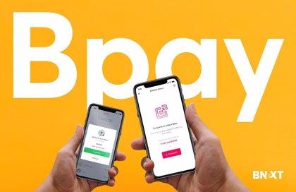 Bnext lanza el sistema de pago instantáneo universal Bpay