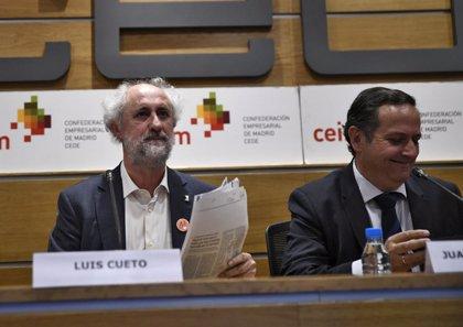 """Cueto admite """"conflictividad y unos miembros muy radicales de izquierdas"""" dentro del Grupo de Ahora Madrid"""