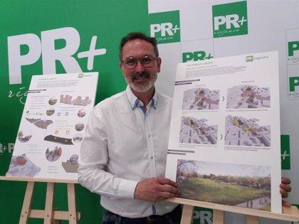 Antoñanzas (PR+) asegura que revertirá el PERI Ferrocarril para convertir la zona en un gran parque