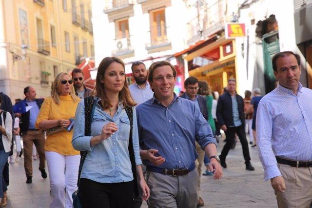 26M.- Almeida promete remodelación integral de las calles del barrio Universidad y una campaña promocional de Centro