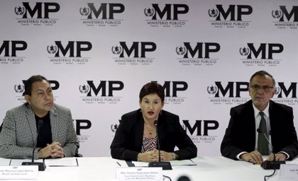 """Thelma Aldana afirma que el rechazo del TC de Guatemala a su candidatura supone empujar al país a un """"precipicio"""""""