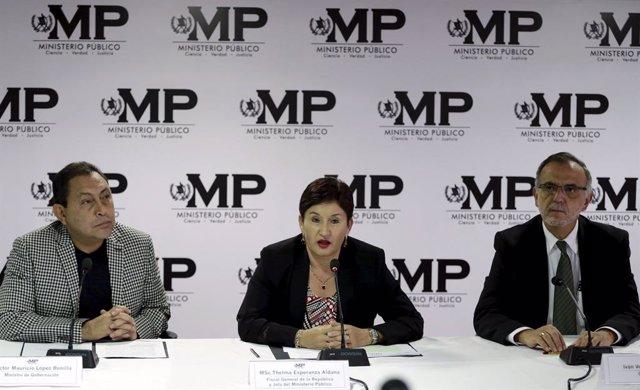 Guatemala.- El TSE de Guatemala anula la candidatura a la Presidencia de la exfiscal general Thelma Aldana