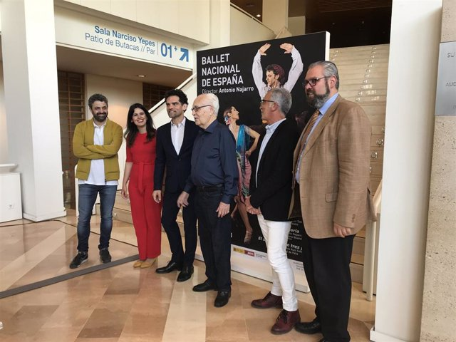 El Auditorio regional acoge el estreno mundial de 'Eterna Iberia' del Ballet Nacional de España
