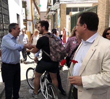 Espadas anuncia nuevos ejes peatonales en Casco Antiguo y acciones en San Laureano, Santa Clara o muralla de la Macarena