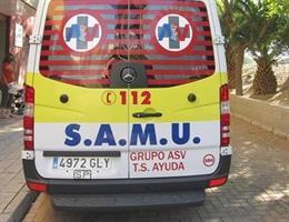Castellón.- Sucesos.- Un hombre resulta herido tras ser atropellado por un coche en la N-340 en Vinaròs