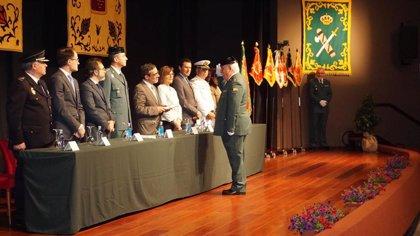 El delegado del Gobierno resalta la contribución de la Guardia Civil al bienestar y convivencia democrática