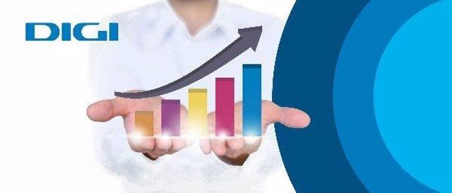 Economía/Empresas.- Digi roza los 1,5 millones de clientes en España tras sumar más de 150.000 en el primer trimestre