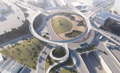 El proyecto de la pasarela peatonal de Padre Anchieta (Tenerife) contará con una plaza anexa a la Facultad de Biología